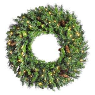 "60"" Lighted Wreath"
