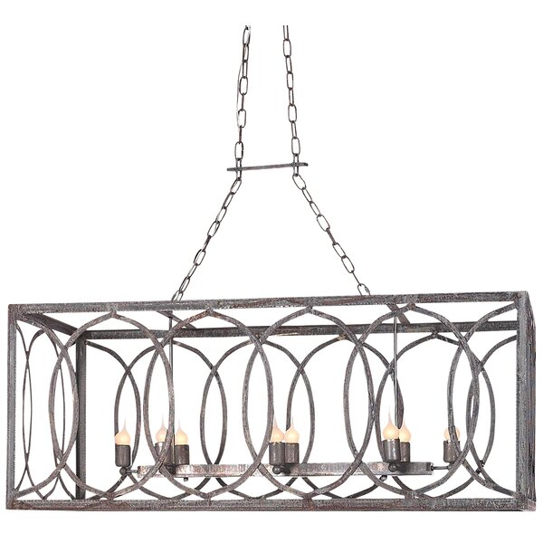 ellahome new orleans 8 light kitchen island pendant perigold