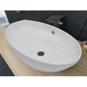 Home Etc 63,5 cm Aufsatz-Waschbecken