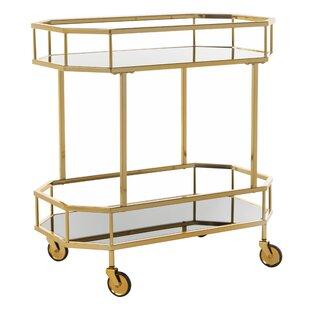 Beaminster Octagon Bar Cart
