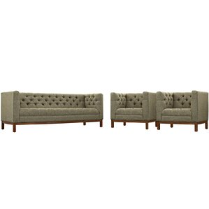 Panache 3 Piece Living Room Set by Modway