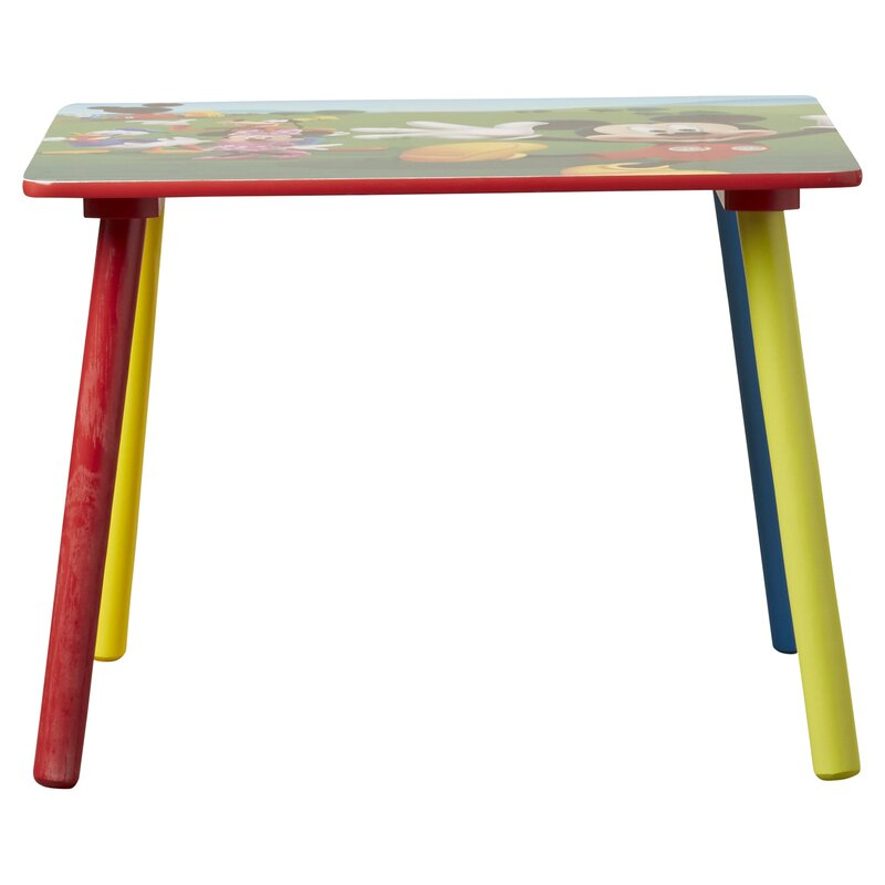 Delta Children Mickey Mouse Kids 3 Piece Table And Chair