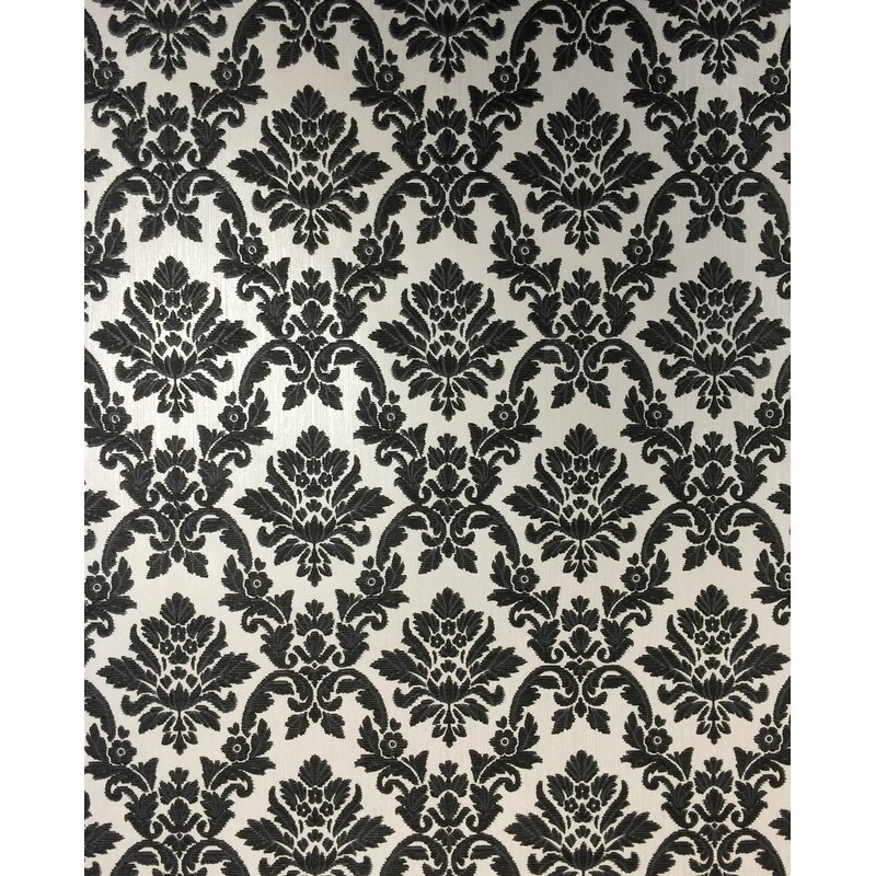"Graham & Brown Renaissance 33' x 20"" Damask Wallpaper Roll"