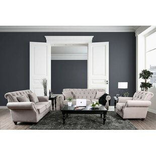 Alexys Modern Victorian Configurable Living Room Set