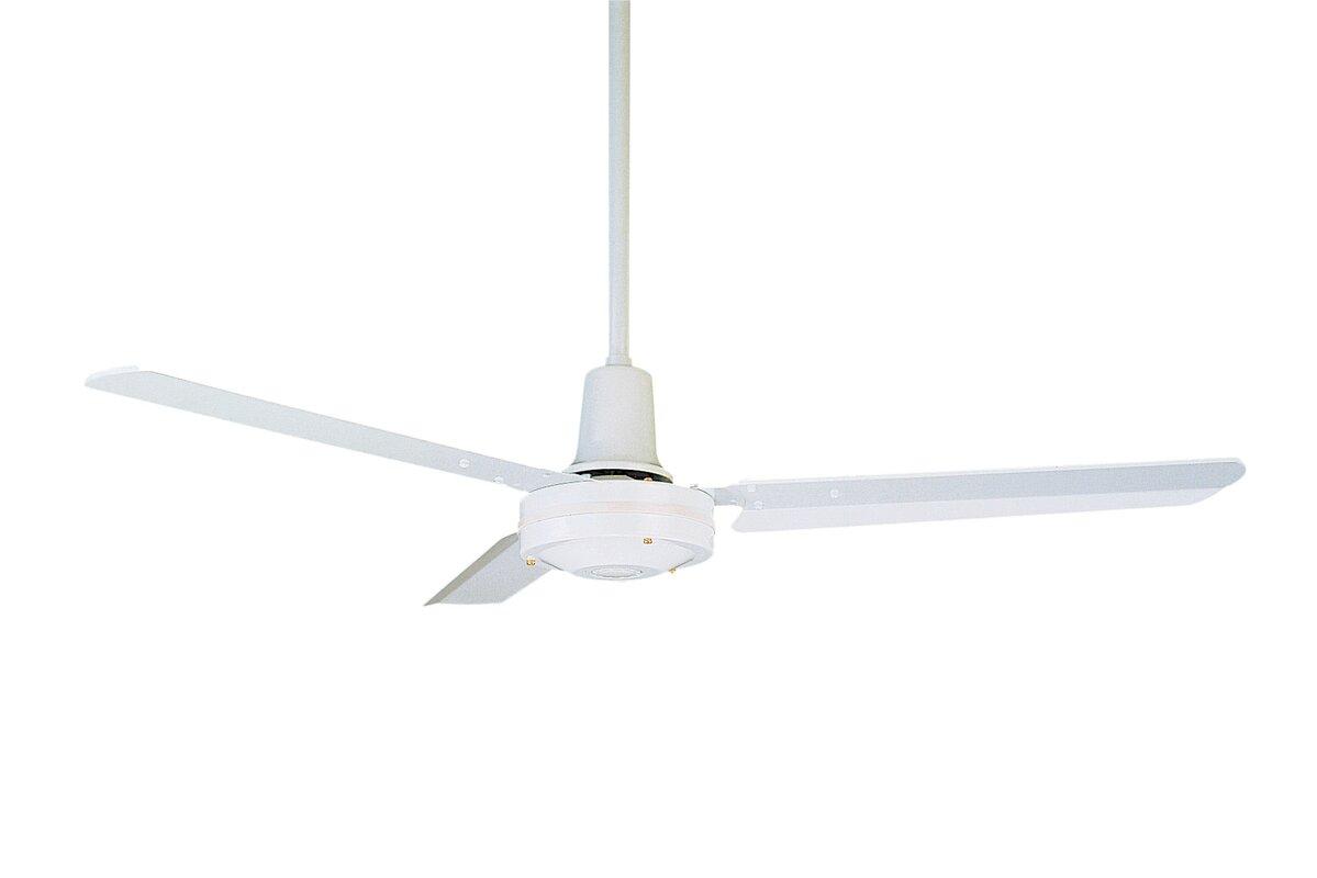 Emerson fans 48 heat industrial 3 blade ceiling fan reviews wayfair 48 heat industrial 3 blade ceiling fan aloadofball Images