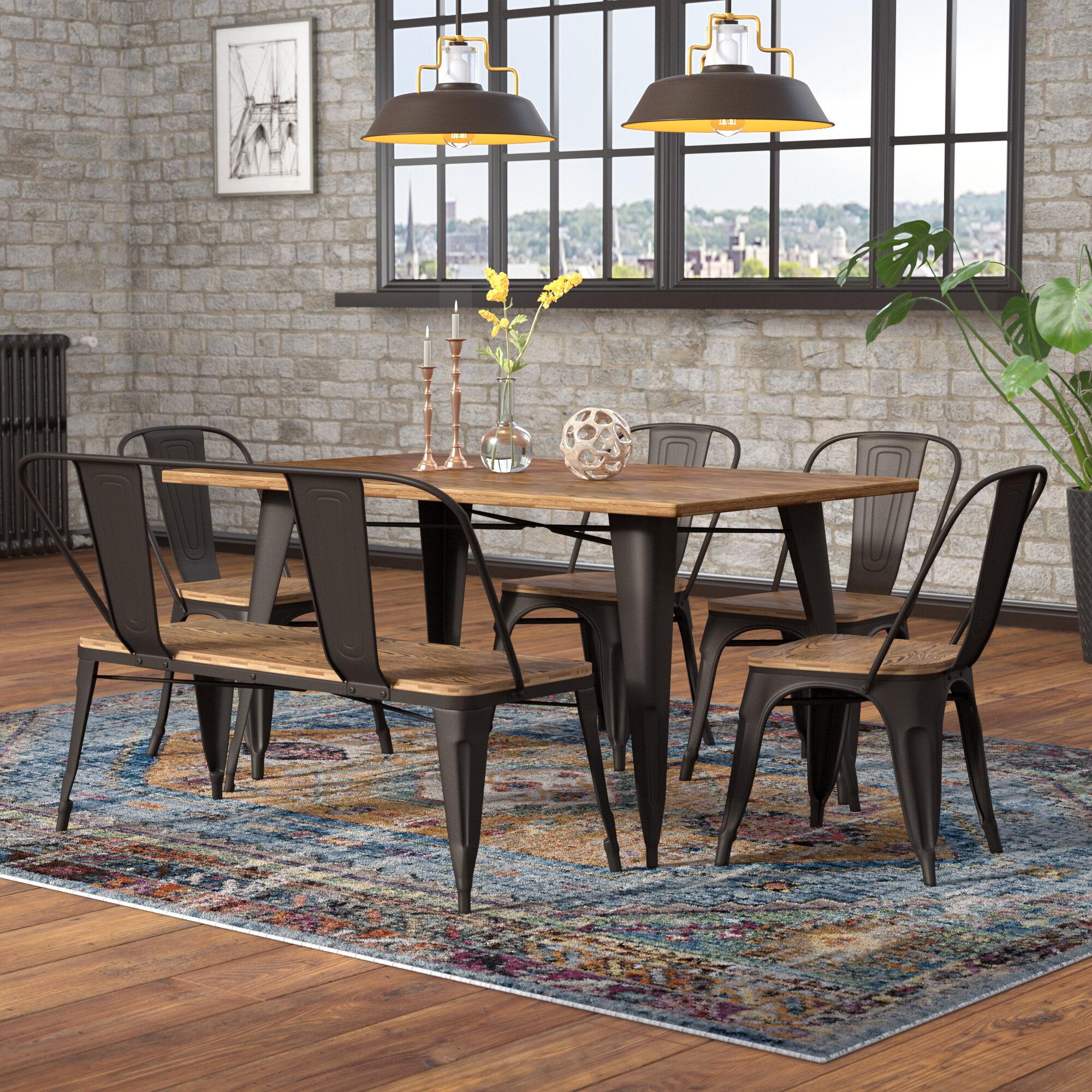 0e14b33c94 Union Rustic Claremont 6 Piece Dining Set   Reviews