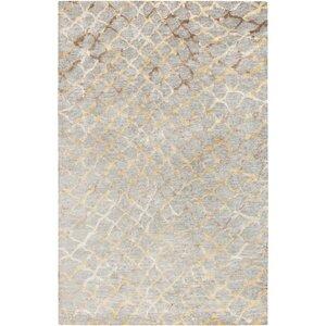 Olinda Hand-Knotted Medium Gray Area Rug