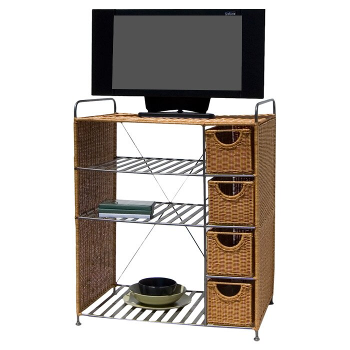 Oia Wicker 26 Quot Tv Stand Amp Reviews Wayfair