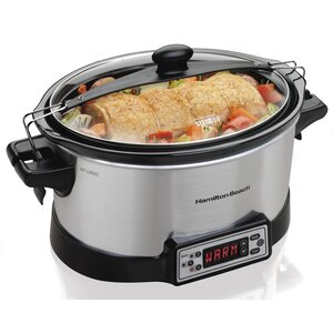 6-Qt. Stay or Go Programmable Right Size Slow Cooker