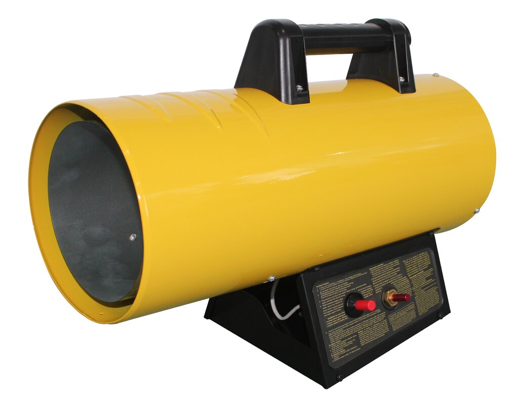 AZ Patio Heaters 40,000 BTU Propane Forced Air Utility Heater ...
