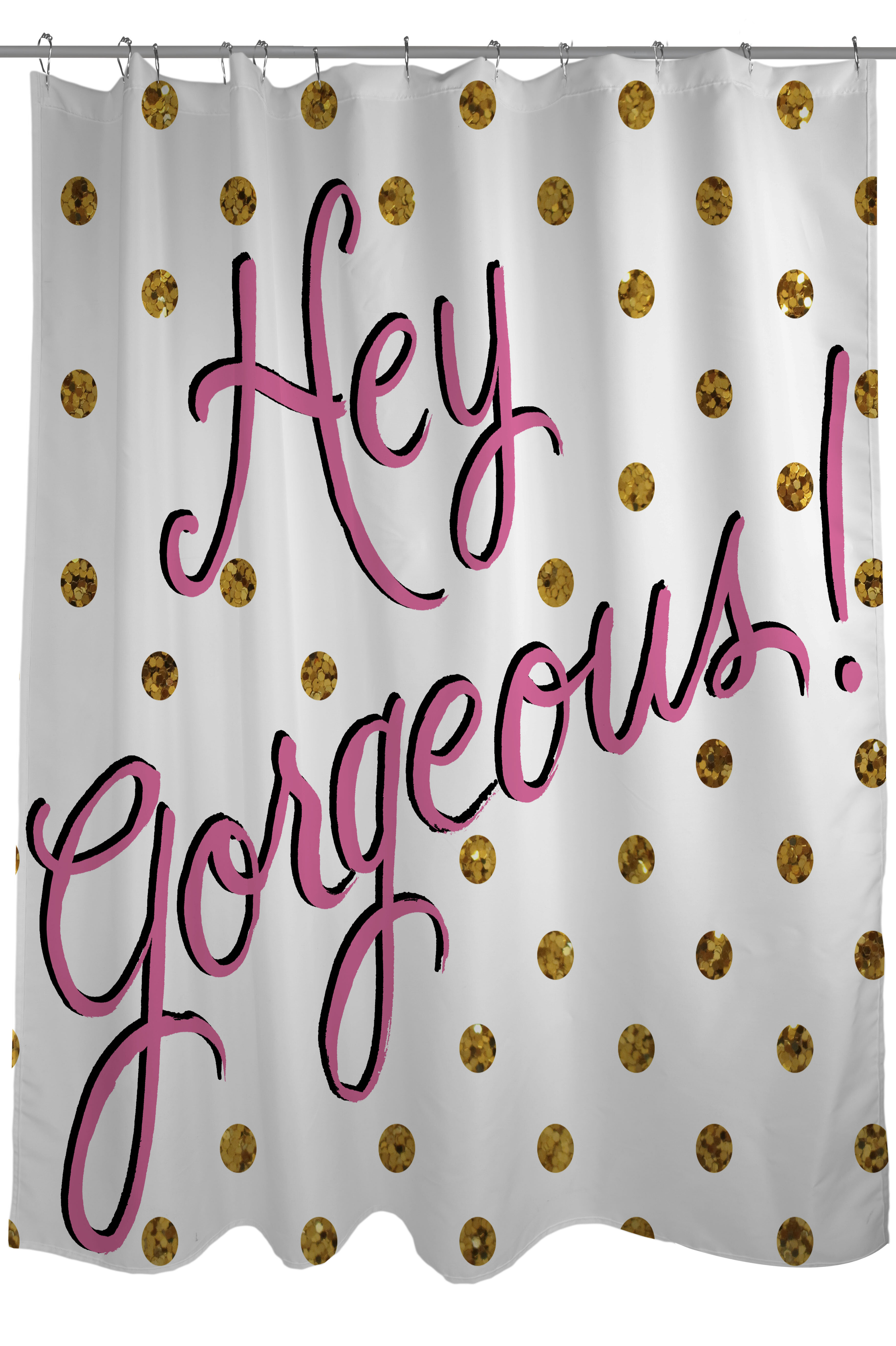 One Bella Casa Hello Gorgeous Dots Shower Curtain Reviews