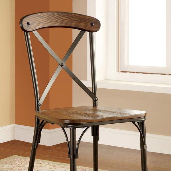 Gracie Oaks Zara Solid Wood Dining Chair | Wayfair