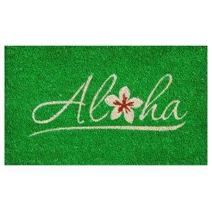 Aloha Doormat  sc 1 st  Wayfair & Sea Grass Door Mat | Wayfair