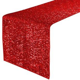 Dark Red Table Runner | Wayfair