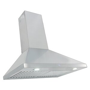 30″ 900 CFM Ducted Wall Mount Range Hood