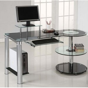 Exceptional Glass Desks Youu0027ll Love | Wayfair