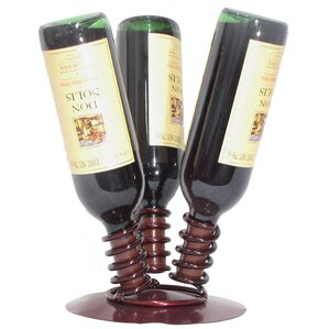 3 Bottle Tabletop Wine Rack by Metrotex Designs