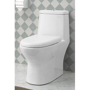 Ivyu00ae 1.28 GPF Elongated One-Piece Toilet