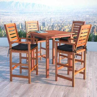 Awesome Beachcrest Home Mallie 5 Piece Dining Set Wayfair Home Interior And Landscaping Ologienasavecom