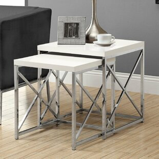 Exceptionnel 2 Piece Monarch Nesting Table Set