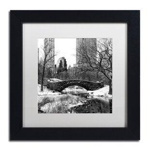 cf919139a78  Gapstow Bridge Central Park  Framed Photographic Print on Canvas