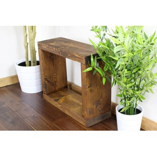 Deseret Rustic Single Cube Side Table With Storage