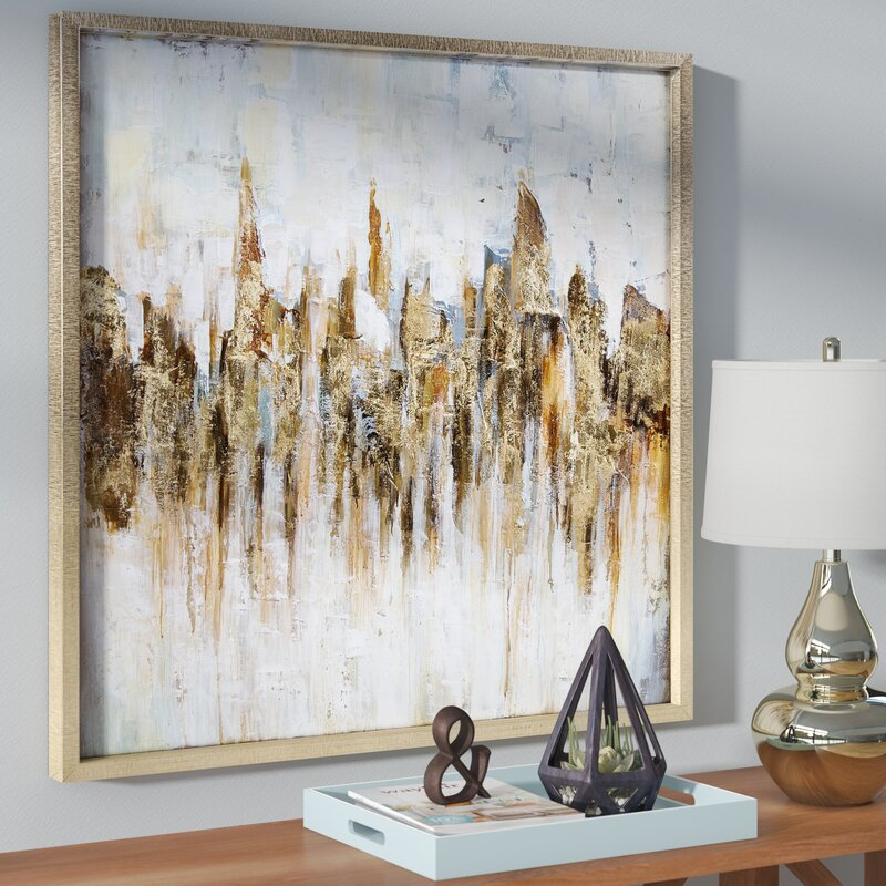 Katsu\' Framed Painting Print on Wrapped Canvas & Reviews | Birch Lane