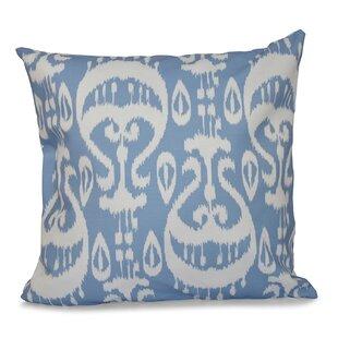 e4c8abb89c Crossett Ikat Geometric Outdoor Throw Pillow
