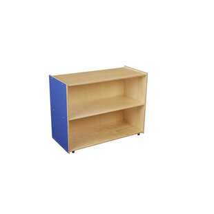 Deep Shelf Storage 2 Compartment Shelving Unit