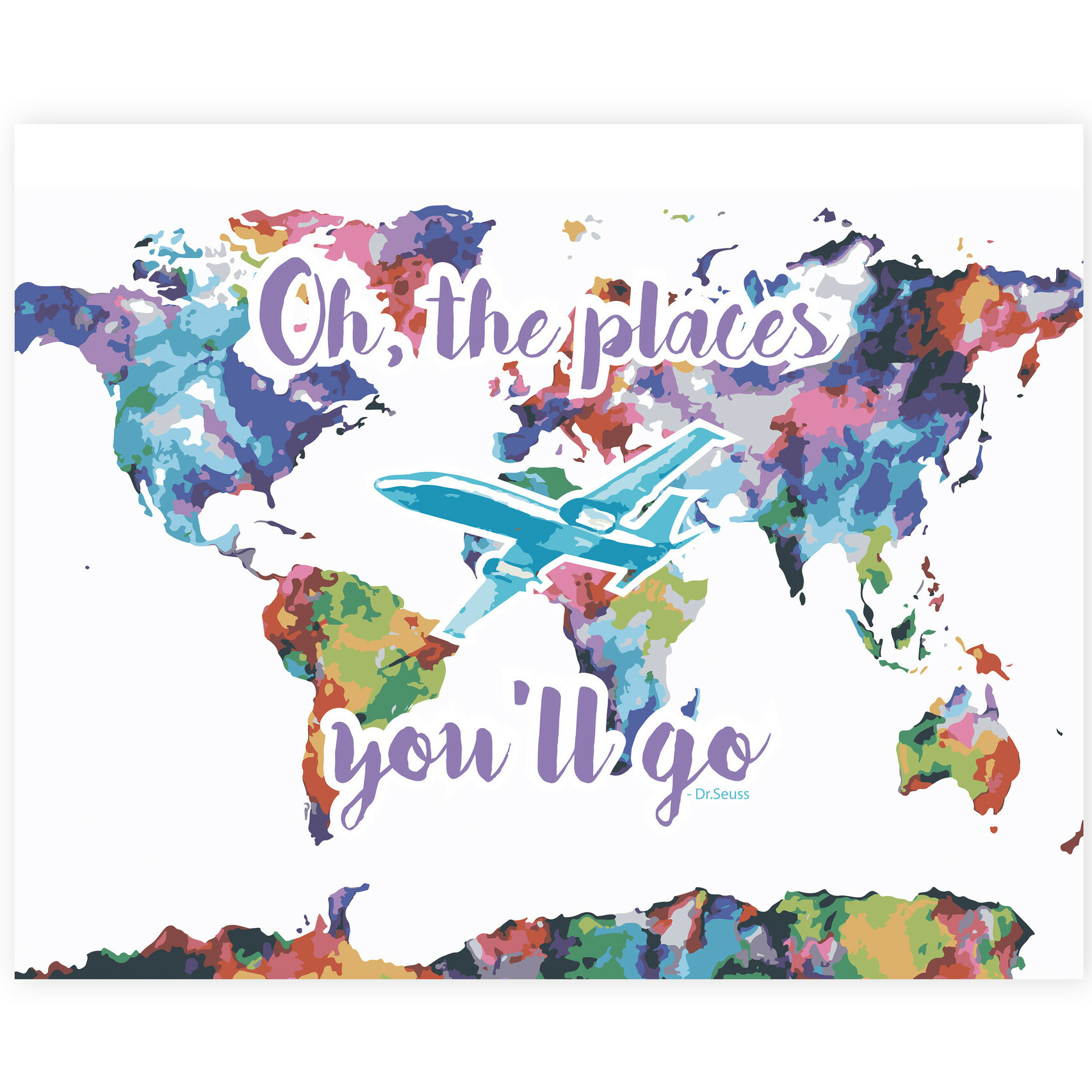Oh The Places You'll Go Map Watercolor Canvas Art Map Canvas Art on map curtains, cool world map art, map of western united states, gold glass art, map drawing art, united states map art, map of eastern united states, map color art, map framed art, brown abstract art, map home decor, map modge podge art, map mediterranean, map design, diy map art, map art prints, map pencil art, map border art, map wall decals, map food art,