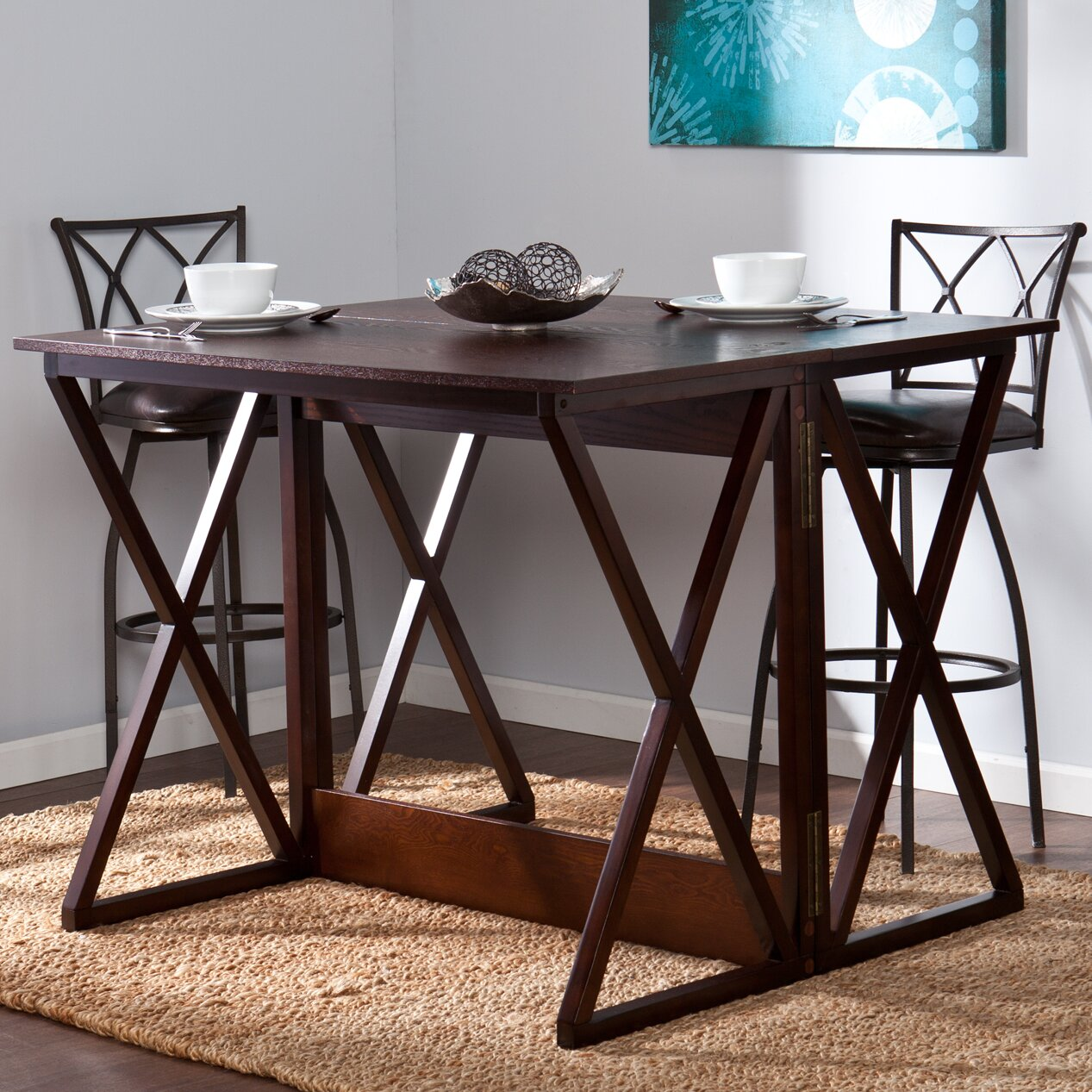 keraton counter height extendable dining table - Kitchen Table Height