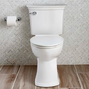 Acticlean Watersense 1.28 GPF Elongated Two Piece Toilet