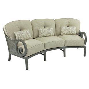 Beautiful Crescent Shaped Outdoor Sofa | Wayfair MS73