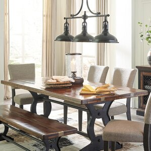 Teesha Dining Table by Gracie Oaks