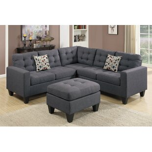 Ee Sectional With Ottoman