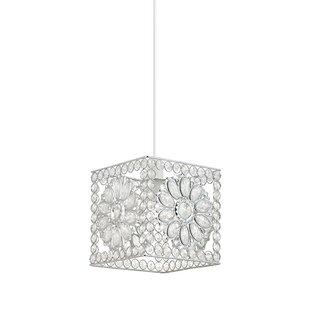Rectangular lamp shades wayfair netter 18cm metal rectangular pendant shade aloadofball Choice Image