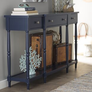 blue console tables you ll love wayfair rh wayfair com distressed blue sofa table blue sofa coffee table