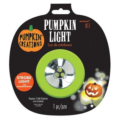 Halloween Pumpkin Strobe Light Amscan