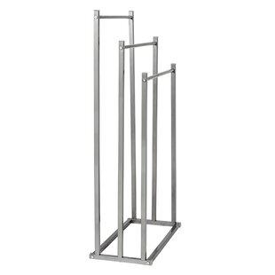 1ccaa16ddd6 3-Tier Steel Bathroom Free Standing Towel Rack