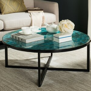 Hafner Coffee Table by Rosecliff Heights