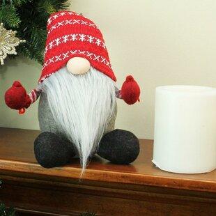 458916f18c4 Plush Nordic Santa Christmas Gnome Tabletop Figure