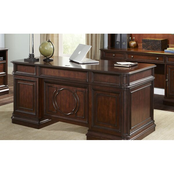 Three Posts Gaither Executive Desk U0026 Reviews | Wayfair