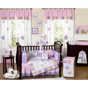 Butterfly 9 Piece Crib Bedding...