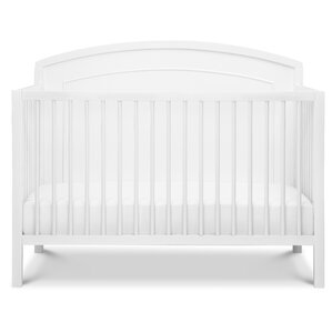 kenzie 4in1 convertible crib - White Baby Crib