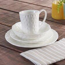 Vanilla Marble Wingfield 16 Piece Dinnerware Set, Service for 4