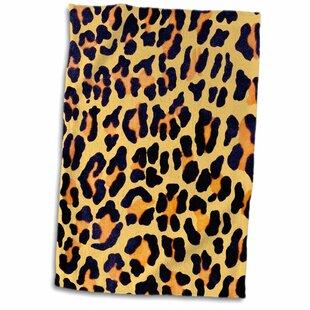 Clarksville Chic Leopard Print Hand Towel