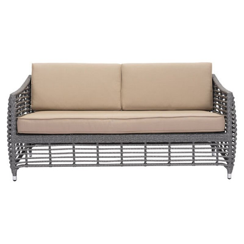 Exceptionnel Ashton Beach Patio Sofa With Cushions