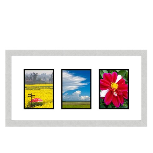 Frames By Mail 3 Opening Collage Picture Frame   Wayfair