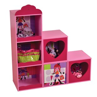 Fashion Stacked Storage Shelf Book Display by Liberty House Toys