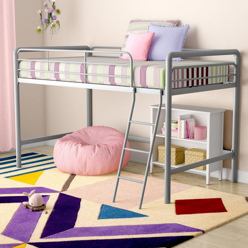 Viv Rae Charla Junior Twin Low Loft Bed Amp Reviews Wayfair